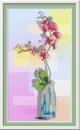 Орхидея. Набор для вышивания габардин+бисер 32х18 см